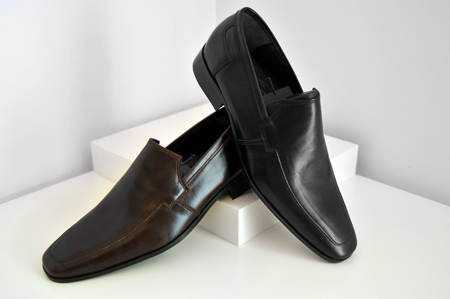 Nice Step Shoes Αμπιγιέ Υποδήματα καφέ και μαύρο